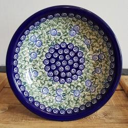 "Zaklady Ceramiczne""BOLESLAWIEC""社製 ポーランド陶器 ポーリッシュポタリー プレート 22cm GU1002"