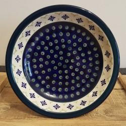 """Zaklady Ceramiczne""""BOLESLAWIEC""""社製 ポーランド陶器 ポーリッシュポタリー プレート 22cm GU1002-297A"""