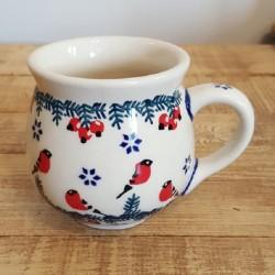 MANUFAKTURAマヌファクトゥラ- ボレスワヴィエツ陶器 - ポーランドマグカップ (220ml) K67-GILE
