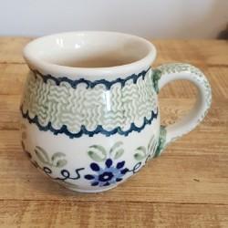 MANUFAKTURAマヌファクトゥラ- ボレスワヴィエツ陶器 - ポーランドマグカップ (220ml) K67-P182