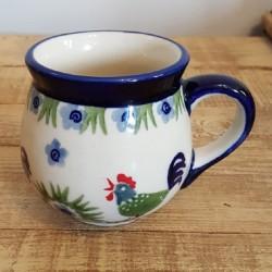 MANUFAKTURAマヌファクトゥラ- ボレスワヴィエツ陶器 - ポーランドマグカップ (220ml) K67-P319