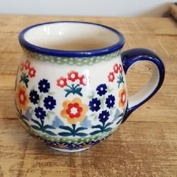 MANUFAKTURAマヌファクトゥラ- ボレスワヴィエツ陶器 - ポーランドマグカップ (220ml) K67-P373