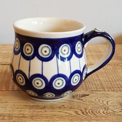"Zaklady Ceramiczne ""BOLESLAWIEC""(ザクワディ)社製 ポーランド陶器 ポーランドマグカップ0.23L GU1472-8"