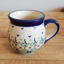 MANUFAKTURAマヌファクトゥラ- ボレスワヴィエツ陶器 - ポーランドマグカップ (220ml) K67-LZ