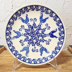 """Zaklady Ceramiczne""""BOLESLAWIEC""""社製 平皿φ19,5cm GU-814-1149 ポーランド ボレスワヴィエツ社"""