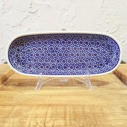 Zaklady Ceramiczne BOLESLAWIEC オーバルロングプレート28.3cm GU928-120
