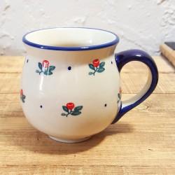 Manufaktura • ポーランド陶器 • ポーランドマグカップ 350ml K90-BORC