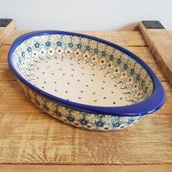 Manufaktura•ポーランドの陶•グラタン皿 31cm P98-LZ