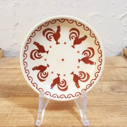MANUFAKTURA•ポーランド陶器•プレートSS 10.5cm•P154-KOGB