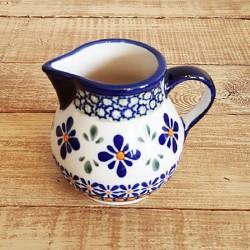 ポーランド陶器 • BOLESLAWIEC • クリーマー 180ml GU785-DU60