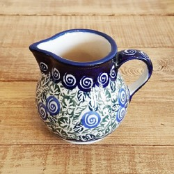 ポーランド陶器 • BOLESLAWIEC • クリーマー 180ml GU785-1073A