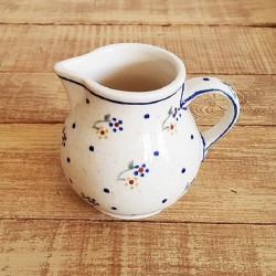 ポーランド陶器 • BOLESLAWIEC • クリーマー 180ml GU785-111