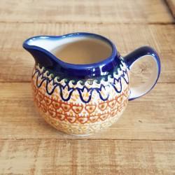 ポーランド陶器 • BOLESLAWIEC • クリーマー 250ml GU711-ART117