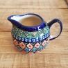 ポーランド陶器 • BOLESLAWIEC • クリーマー 250ml GU711-ART105