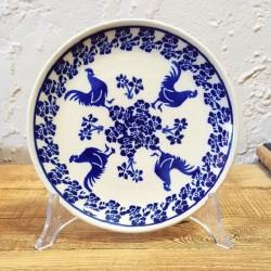ポーリッシュポタリー (ポーランド食器) 平皿φ16cm|GU818-1149