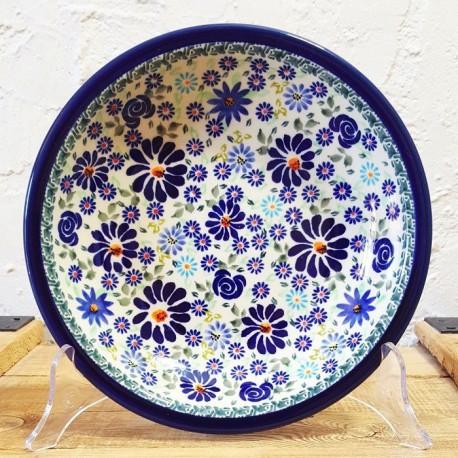 ポーリッシュポタリー•Zaklady Ceramiczne BOLESLAWIEC•スープ・パスタ皿 22cm•GU1002-DU126